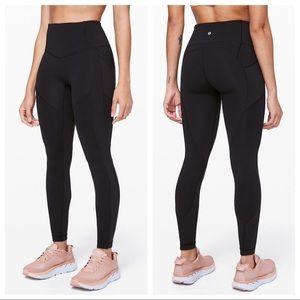 Lululemon | Mesh | Pockets | High Rise Leggings